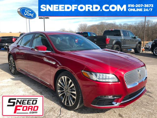 2017 Lincoln Continental Reserve AWD 3.0L V6
