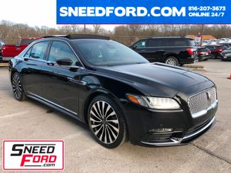 2017 Lincoln Continental Black Label AWD 3.0L V6 in Gower Missouri, 64454