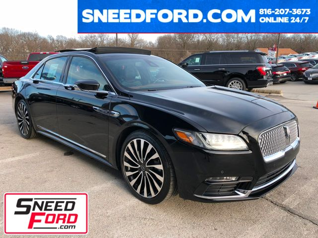 2017 Lincoln Continental Black Label AWD 3.0L V6