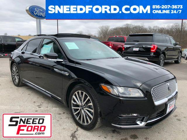 2017 Lincoln Continental Select 3.7L V6