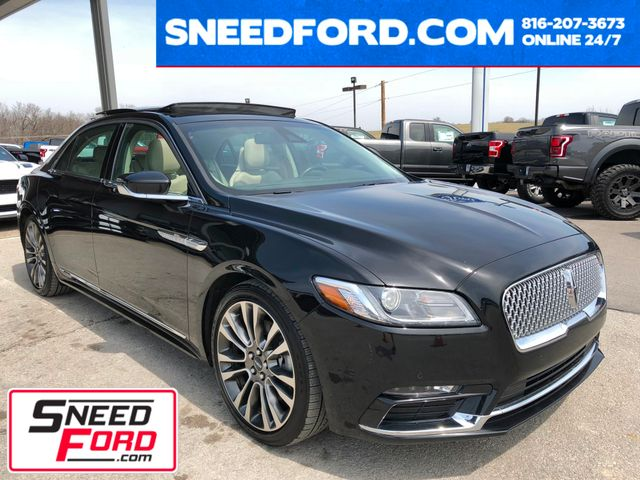 2017 Lincoln Continental Reserve AWD 2.7L V6