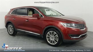 2017 Lincoln MKX Reserve in McKinney Texas, 75070