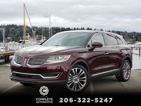 2017 Lincoln MKX Reserve AWD Tech Climate Seat Packages 21