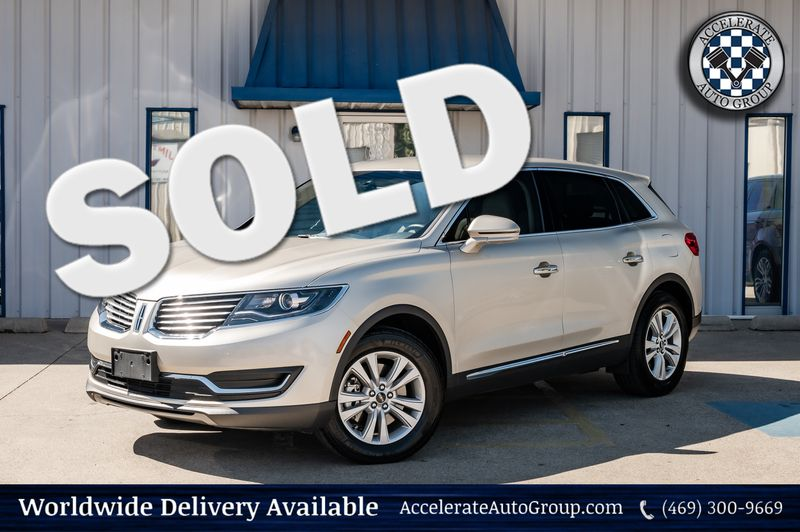 2017 Lincoln MKX 2.7L V6 Premiere Leather Heated Seats Clean Carfax in Rowlett Texas