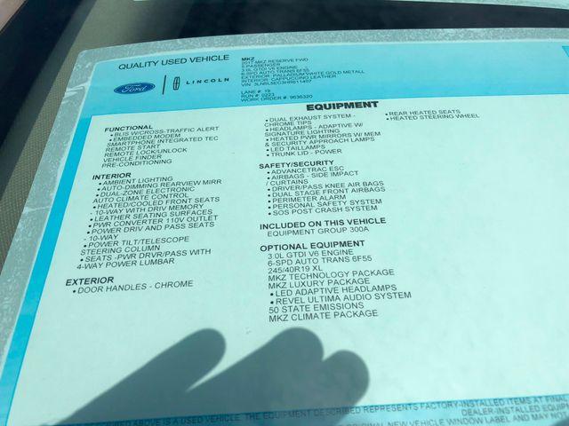 2017 Lincoln MKZ Reserve 3.0L V6 in Gower Missouri, 64454