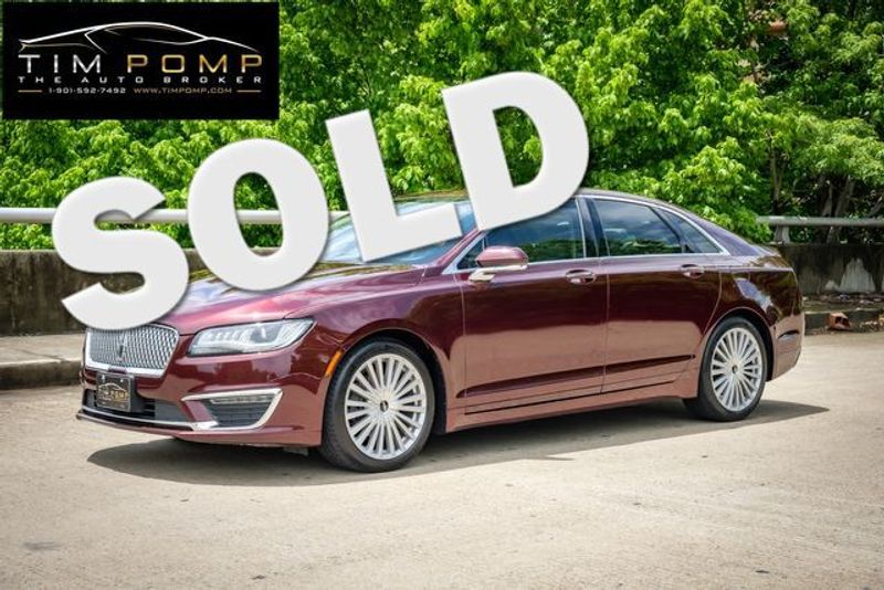 2017 Lincoln MKZ Reserve | Memphis, Tennessee | Tim Pomp - The Auto Broker in Memphis Tennessee