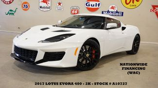 2017 Lotus Evora 400 Coupe 6 SPD,NAV,BACK-UP CAM,HTD LTH,BLK WHLS,2K in Carrollton, TX 75006