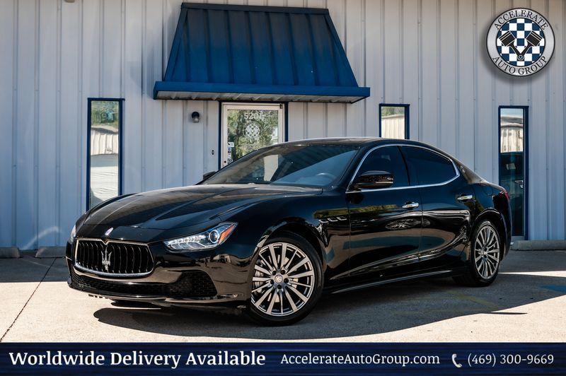 2017 Maserati Ghibli 3.0L Twin Turbo V6 Navigation Heated Seats Nice!! in Rowlett Texas