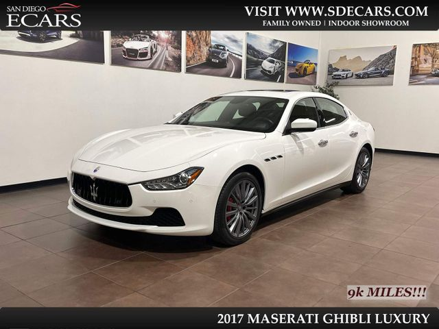 2017 Maserati Ghibli Luxury