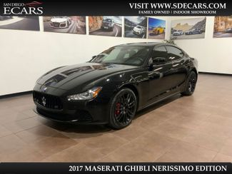 2017 Maserati Ghibli Nerissimo Edition in San Diego, CA 92126