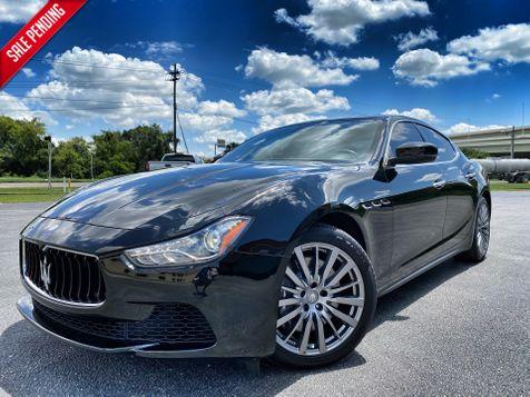 2017 Maserati Ghibli GHIBLI SQ4 CLEAN CARFAX CERT BLACK/BLACK in Plant City, Florida