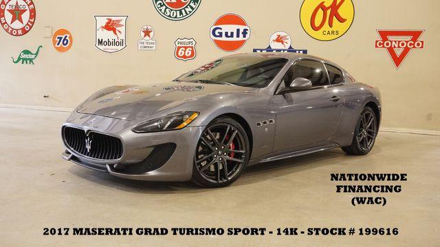 2017 Maserati GranTurismo Sport Coupe NAV,HTD LTH,BOSE,15K,WE FINANCE