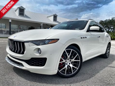 2017 Maserati Levante S PEARL WHITE/RED LEATHER SPORT 1 OWNER in Plant City, Florida