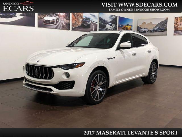 2017 Maserati Levante S Sport