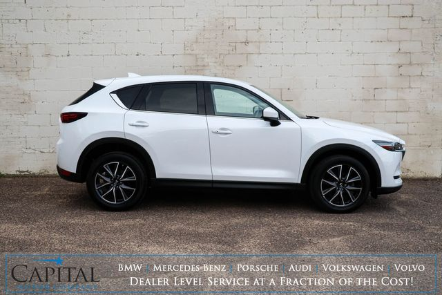2017 Mazda CX-5 Grand Touring AWD SUV with Nav, Backup Cam, Adaptive Cruise & Power Moonroof in Eau Claire, Wisconsin 54703