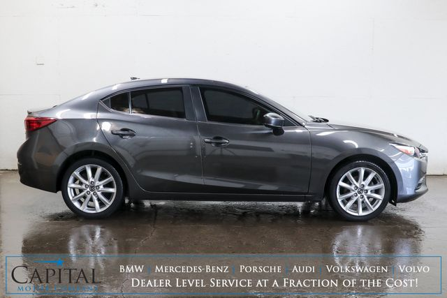 2017 Mazda MAZDA3 Touring Sport Sedan w/6-Speed Manual, Backup Cam, Heated Seats, BOSE Audio & Gets 37MPG in Eau Claire, Wisconsin 54703
