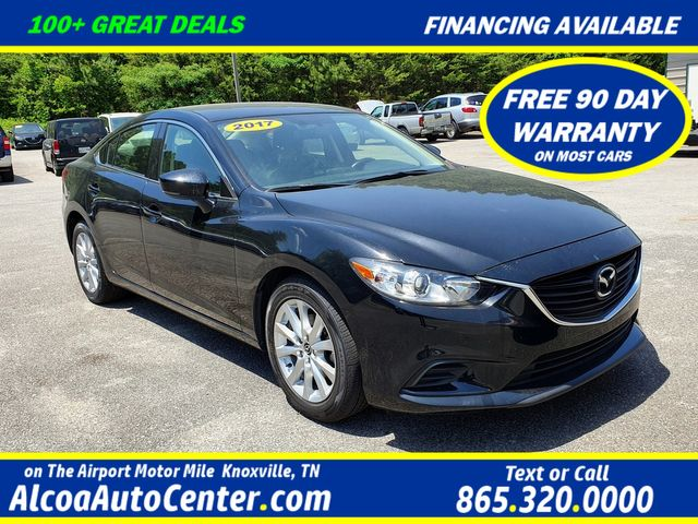 "2017 Mazda Mazda6 Sport 6-Speed w/17"" Wheels/ Parking Sensors"