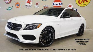 2017 Mercedes-Benz AMG C 43 Sedan PANO ROOF,NAV,BURMESTER,HTD LTH,13K in Carrollton TX, 75006
