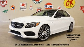 2017 Mercedes-Benz AMG C 43 4MATIC SEDAN,PANO ROOF,NAV,HTD LTH,17K in Carrollton, TX 75006
