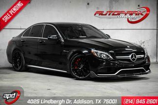 2017 Mercedes-Benz AMG C 63 S DME Stage 2 Tune Lowered & Carbon Fiber in Addison, TX 75001