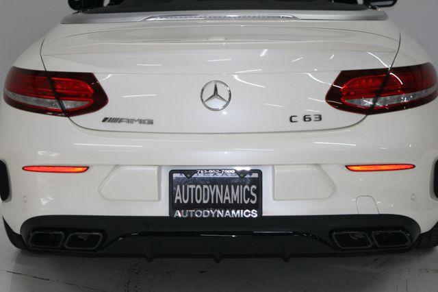 2017 Mercedes-Benz AMG C 63 Convt Houston, Texas 18