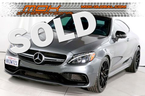 2017 Mercedes-Benz AMG C63 - Exhaust - P2 pkg - Original MSRP of $74720 in Los Angeles