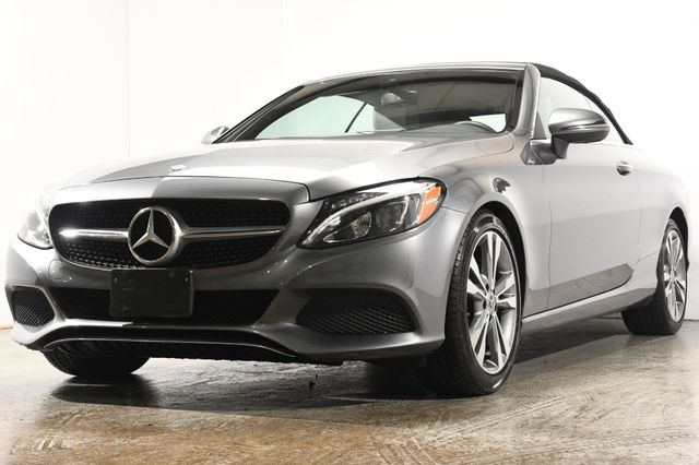 2017 Mercedes-Benz C 300 Cabriolet w/ Nav/ Heated & Cooled Seats / Blind Spot/ Safety