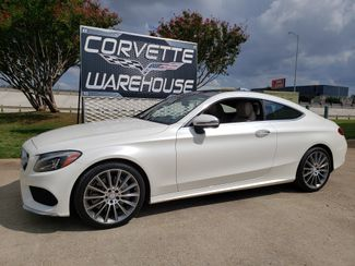 2017 Mercedes-Benz C 300 Coupe Prem. Pkg, Sports Pkg, Sunroof, HUD, AMG 25k in Dallas, Texas 75220
