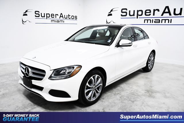 2017 Mercedes-Benz C300 Luxury Package AWD