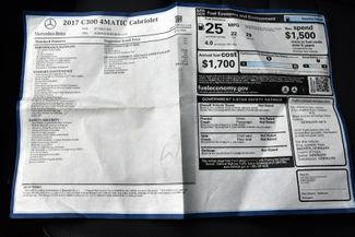 2017 Mercedes-Benz C 300 C 300 4MATIC Cabriolet Waterbury, Connecticut 39