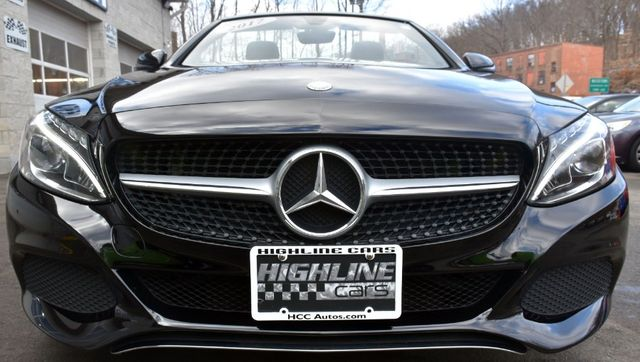 2017 Mercedes-Benz C 300 C 300 4MATIC Cabriolet Waterbury, Connecticut 8