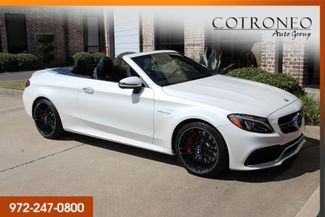 2017 Mercedes-Benz C 63 S AMG Convertible in Addison TX, 75001