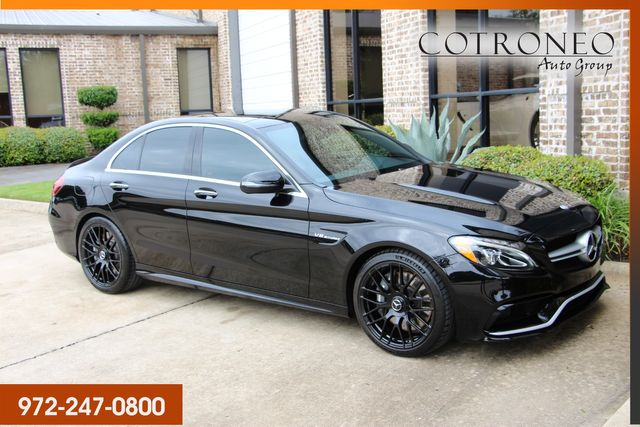 2017 Mercedes-Benz C 63 AMG Sedan in Addison TX, 75001