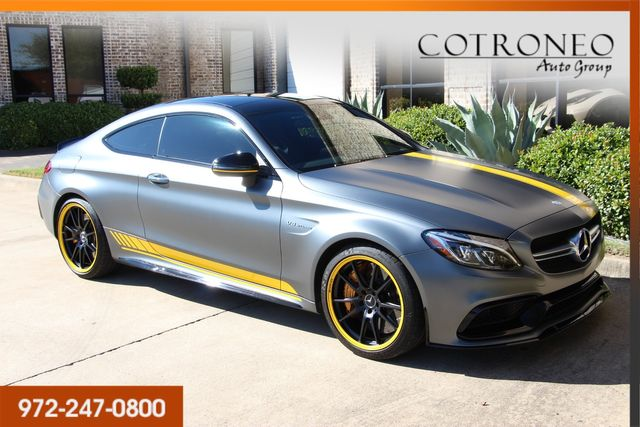 2017 Mercedes-Benz C 63 S AMG Coupe Edition 1 in Addison, TX 75001