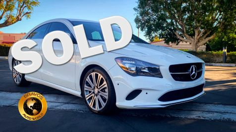 2017 Mercedes CLA 250 7 spd in cathedral city