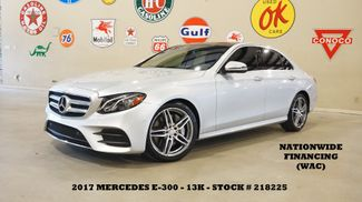 2017 Mercedes-Benz E 300 Sport PANO ROOF,NAV,BURMESTER,HTD LTH,13K in Carrollton, TX 75006