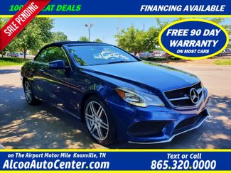 "2017 Mercedes-Benz E 400 Convertible 3.0L V6 Biturbo SPORT Premium Pkg w/18"" AMG Wheels in Louisville, TN 37777"