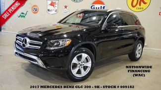2017 Mercedes-Benz GLC 300 PANO ROOF,BACK-UP CAM,HTD LTH,B/T,18IN WHLS,9K! in Carrollton TX, 75006