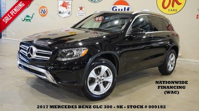 2017 Mercedes-Benz GLC 300 PANO ROOF,BACK-UP CAM,HTD LTH,B/T,18IN WHLS,9K!