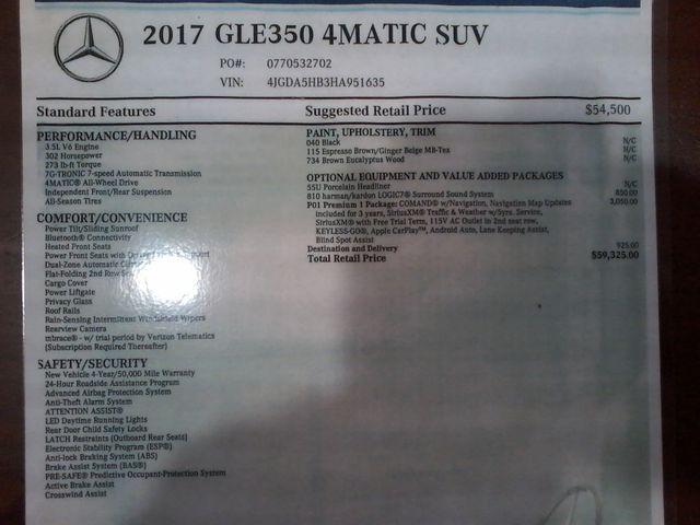 2017 Mercedes-Benz GLE 350 Boerne, Texas 42