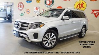2017 Mercedes-Benz GLS 450 4MATIC PANO ROOF,NAV,360 CAM,HTD LTH,3RD ROW,4K! in Carrollton TX, 75006