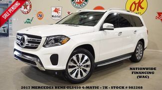 2017 Mercedes-Benz GLS 450 4MATIC SUNROOF,NAV,360 CAM,HTD LTH,3RD ROW,7K! in Carrollton TX, 75006