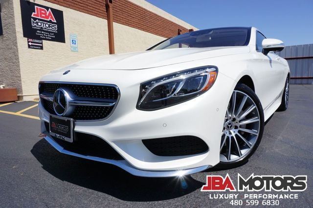 2017 Mercedes-Benz S 550 S550 Coupe S Class 550 4MATIC AWD Diamond White