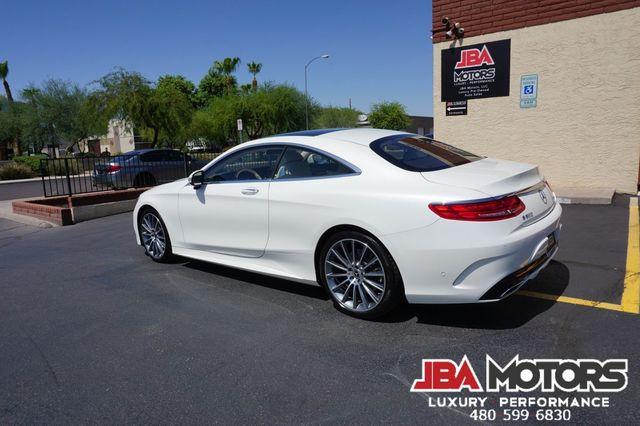 2017 Mercedes-Benz S550 Coupe S Class 550 4MATIC AWD Diamond White in Mesa, AZ 85202