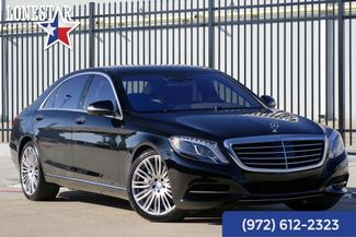 2017 Mercedes-Benz S-Class S550 Premium Package CLean Carfax in Plano Texas, 75093