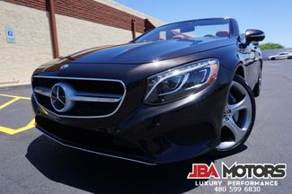2017 Mercedes-Benz S550 Cabriolet S Class 550 Convertible ~ ONLY 7k MILES! | MESA, AZ | JBA MOTORS in Mesa AZ