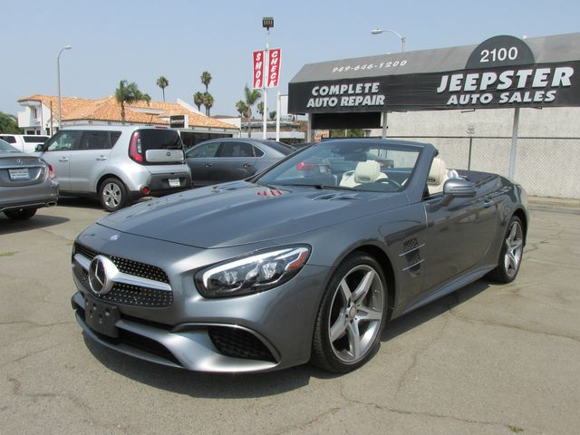 2017 Mercedes-Benz SL 550 Convertible