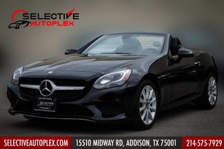 2017 Mercedes-Benz SLC 300 Navigation, Push Start,Pano roof,Leather in Addison, TX 75001