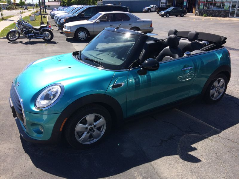 2017 Mini Cooper Convertible Power top Turbo Automatic!    Rishe's Import Center in Ogdensburg New York