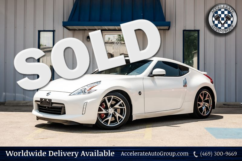 2017 Nissan 370Z 3.7L V6 SPORT COUPE CLEAN CARFAX VERY CLEAN!! in Rowlett Texas